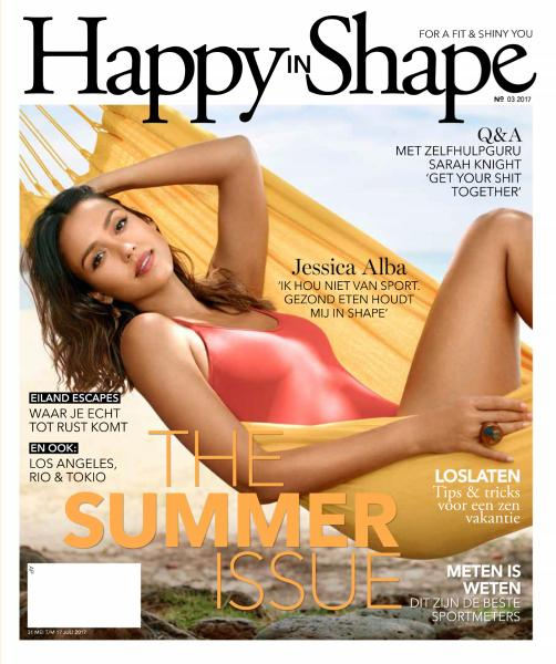 Happy in Shape Nr 3 31 Mei 17 Juli 2017