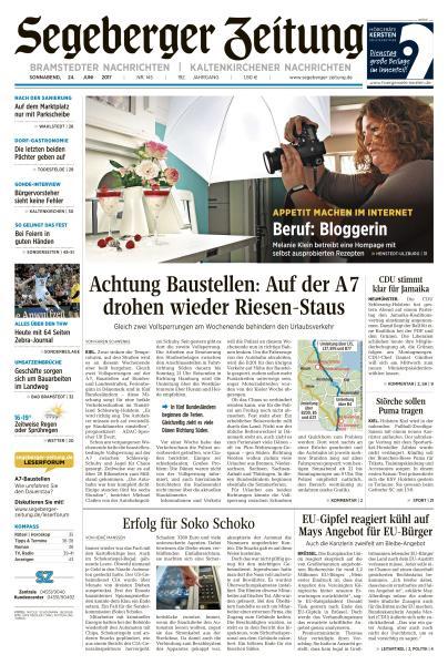 Segeberger Zeitung 24 Juni 2017