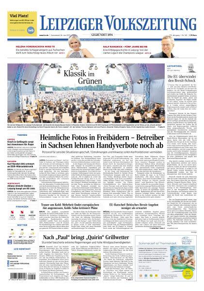Leipziger Volkszeitung 24 Juni 2017