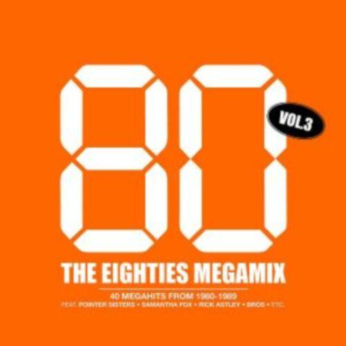 Músicas Antigas Sem Vinhetas (40 Faixas) The Eighties Megamix Vol.3-2CD-2004