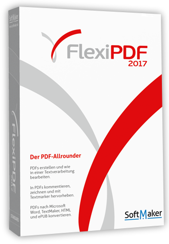 SoftMaker FlexiPDF 2017 Professional v1.05