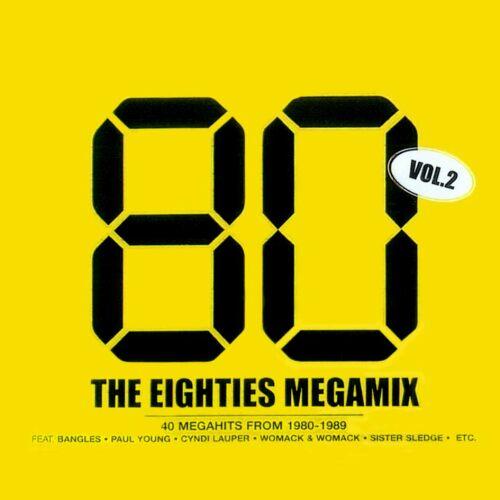 Músicas Antigas Sem Vinhetas (40 Faixas) The Eighties Megamix Vol.2-2CD-2004