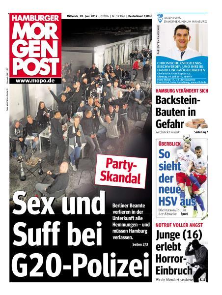 Hamburger Morgenpost 28 Juni 2017