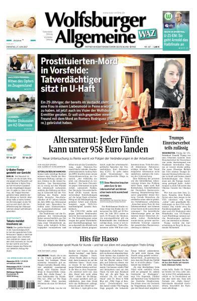 Wolfsburger.Allgemeine.Zeitung.27.Juni.2017