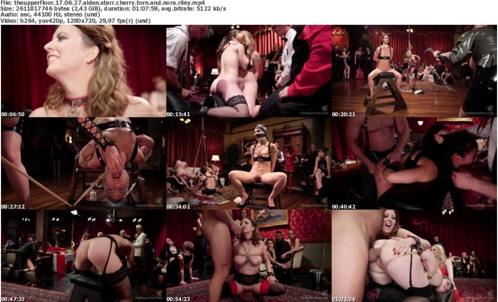 TheUpperFloor 17 06 27 Aiden Starr Cherry Torn And Nora Riley Xxx 720p Mp4-Ktr