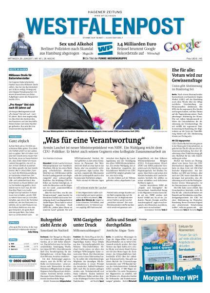 Westfalenpost 28 Juni 2017