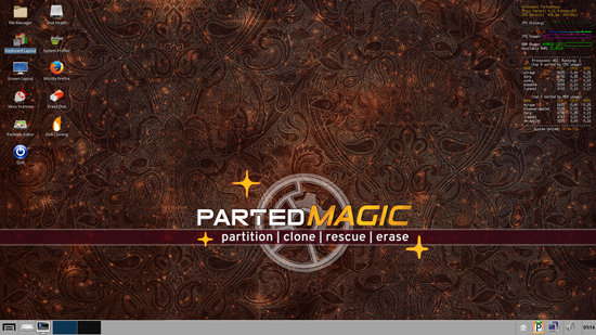 Parted Magic 2019 01 03 + PXE | Board4All