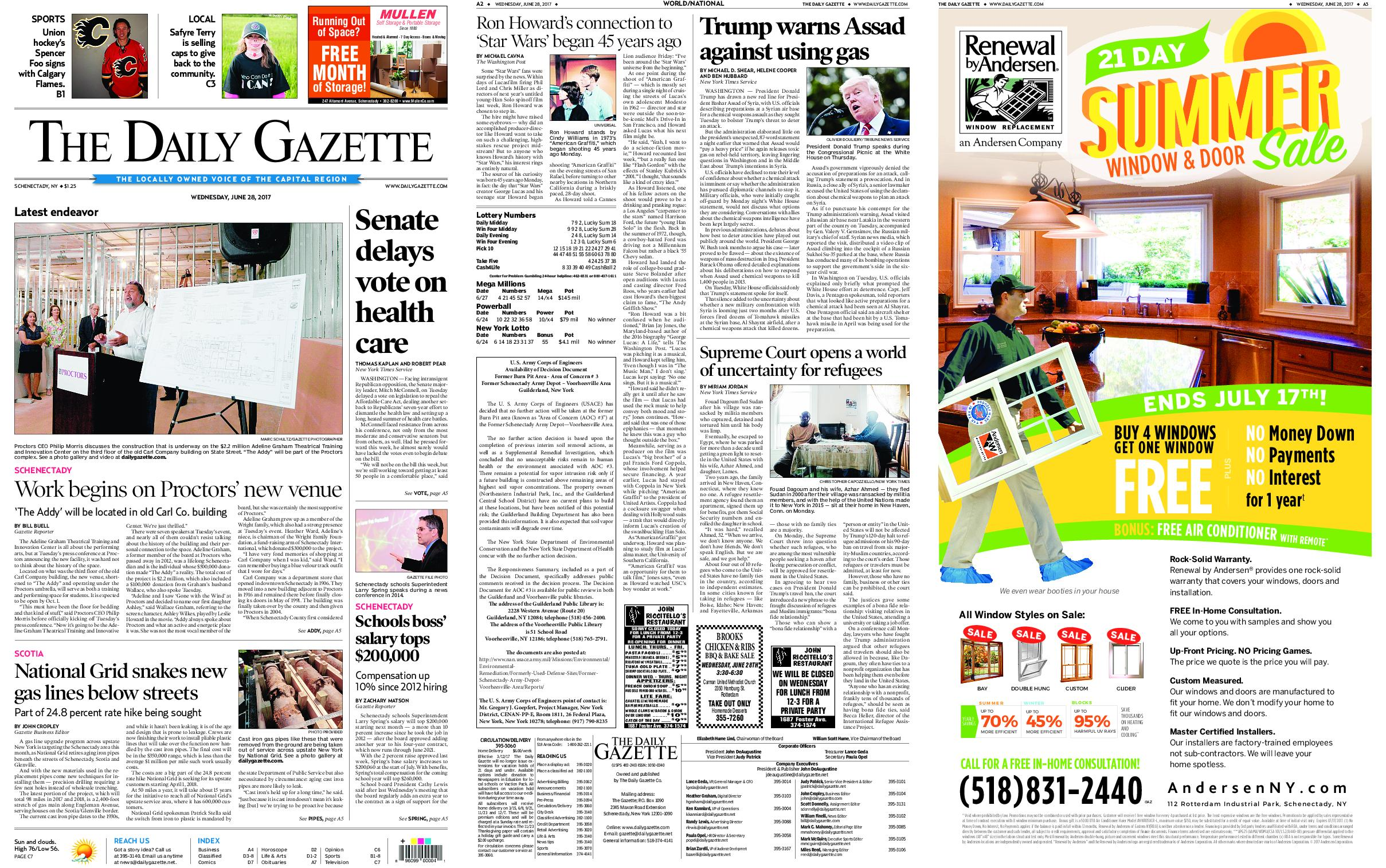 The Daily Gazette June 28 2017