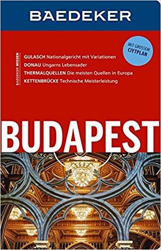 Buch Cover für Baedeker Reiseführer Budapest: MIT GROSSEM CITYPLAN