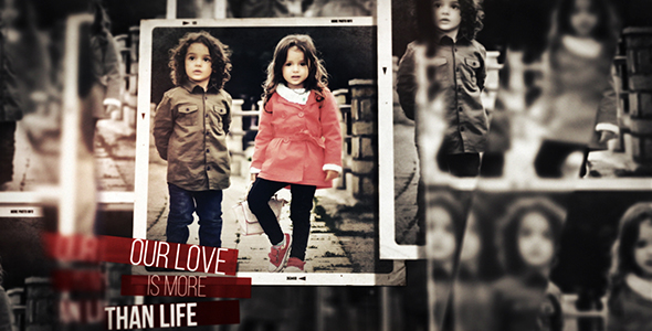 Creative Parallax Photo Slideshow Project for After Effects VideoHive