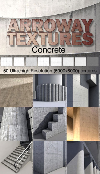 Arroway Concrete Textures Optimal Version