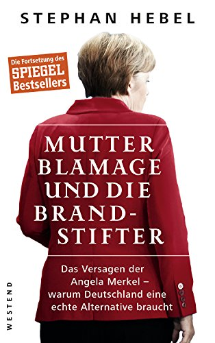 Buch Cover für Mutter Blamage und die Brandstifter