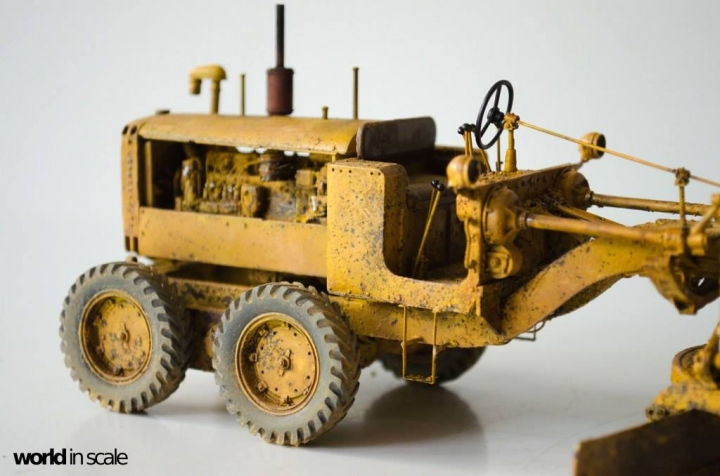 "Caterpillar 12 ""Motor Grader"" - 1/35 by Plus Model R69h53eh"