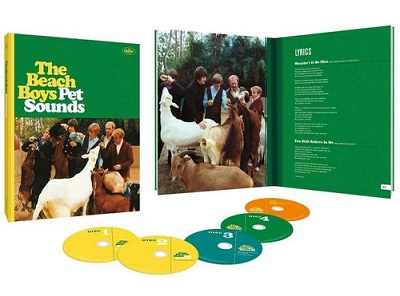 The Beach Boys - Pet Sounds [50th Anniversary Super Deluxe Edition] (2016)