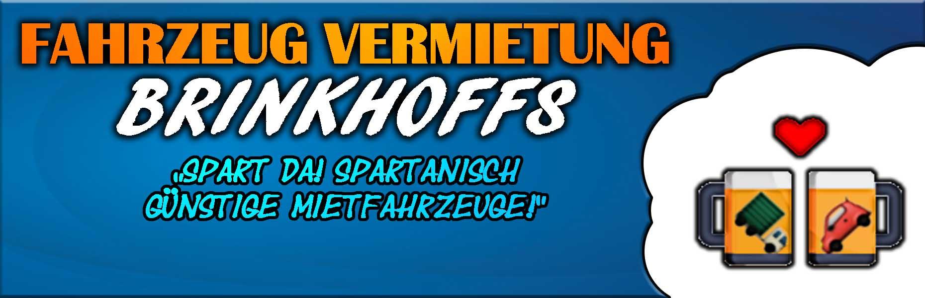 Fahrzeug Vermietung Brinkhoffs