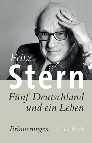 Buch Cover für Fünf Deutschland und ein Leben: Erinnerungen