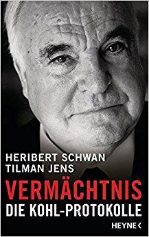 Buch Cover für Vermächtnis: Die Kohl-Protokolle