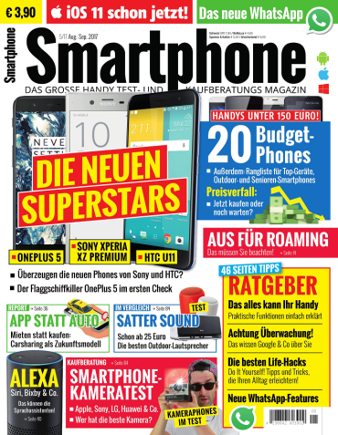 magazine for Smartphone Magazin August September No 05 2017