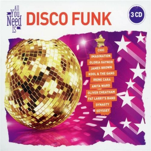 Dance All You Need Is: Disco Funk (3CD)(2017) [Archiwum