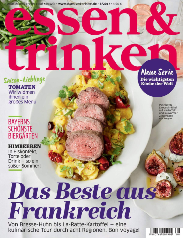 magazine for Kochen und Geniessen Magazin August No 08 2017