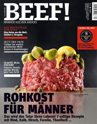 magazine for Beef (Männer kochen anders) Magazin Juli August No 04 2017