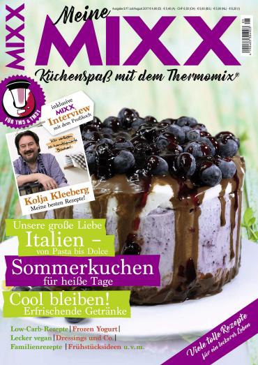magazine for Mixx Magazin für Thermomix Juli August No 05 2017