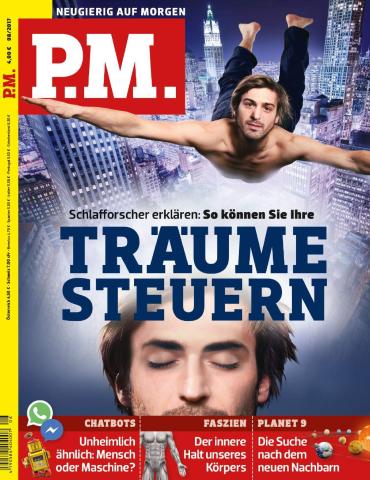 magazine for PM (Neugierig auf Morgen) Wissensmagazin August No 08 2017