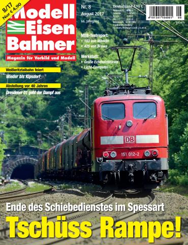 magazine for Modelleisenbahner Magazin August No 08 2017