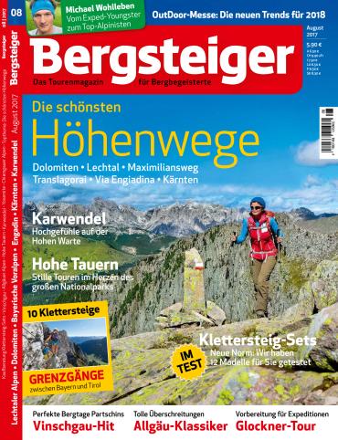 magazine for Bergsteiger - August 2017