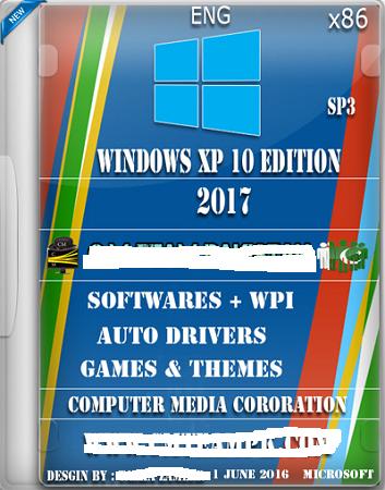 Windows.XP 10 Edition Sp3 2017
