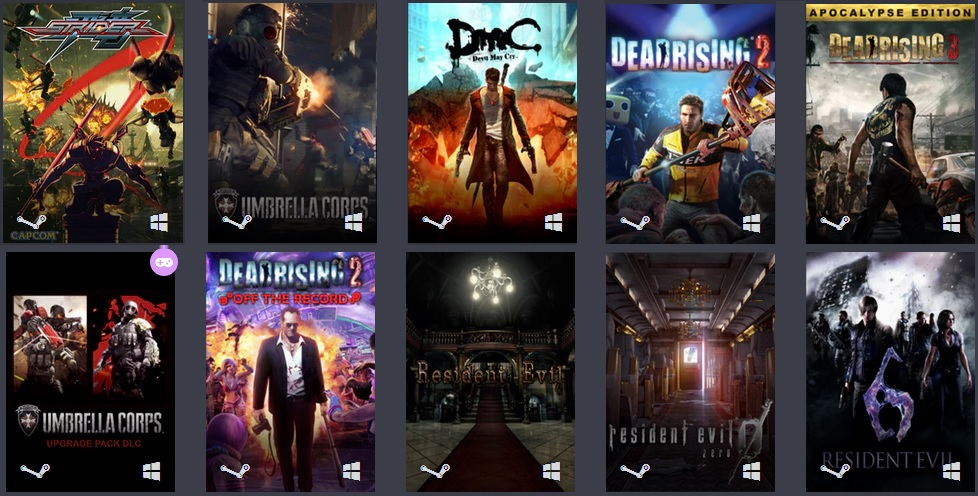 Capcom Rising Bundle