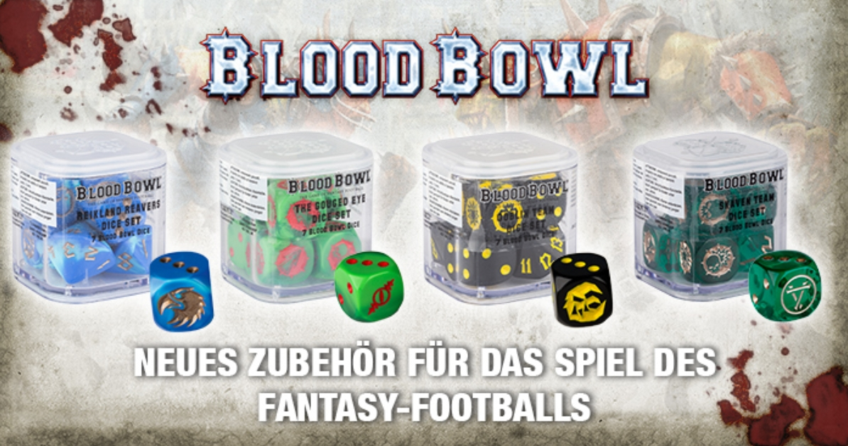 Blood Bowl Dice Sets