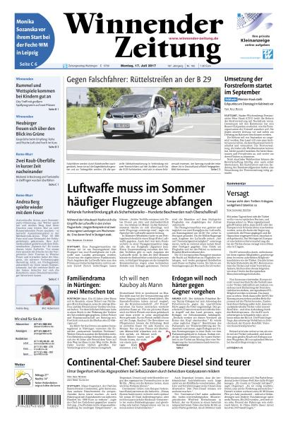 : Winnender Zeitung 17 Juli 2017