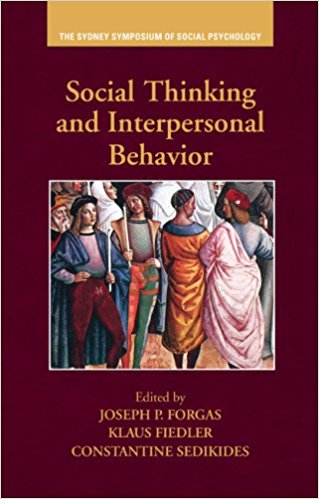 : Social Thinking and Interpersonal Behavior