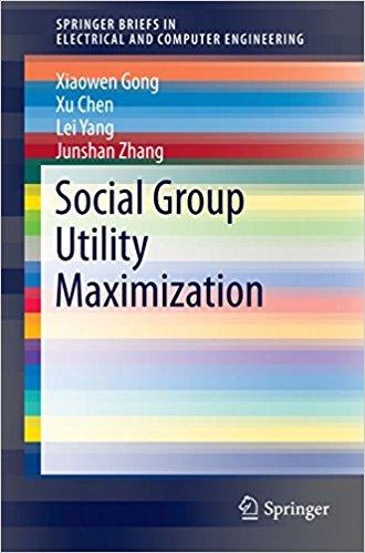 : Social Group Utility Maximization