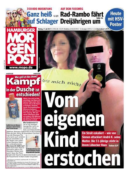 : Hamburger Morgenpost 17 Juli 2017