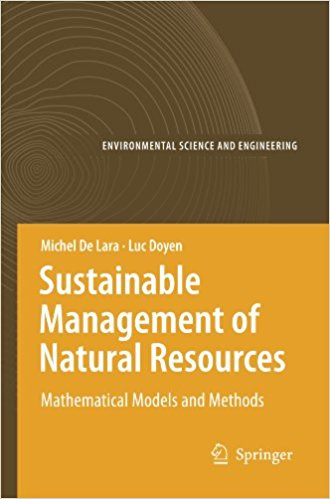 : Sustainable Management of Natural Resources Mathematical Models and Methods