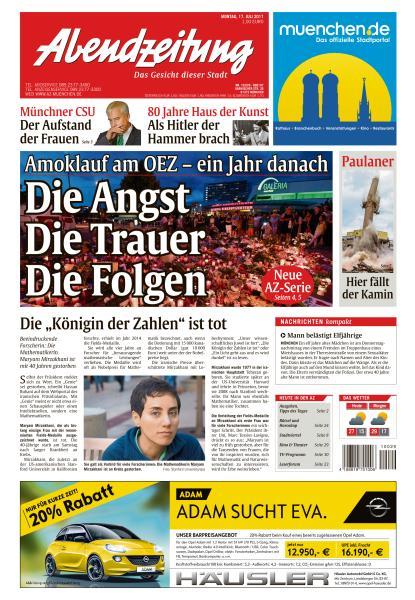 : Abendzeitung Muenchen 17 Juli 2017