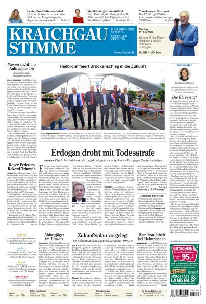 : Kraichgau Stimme 17 Juli 2017