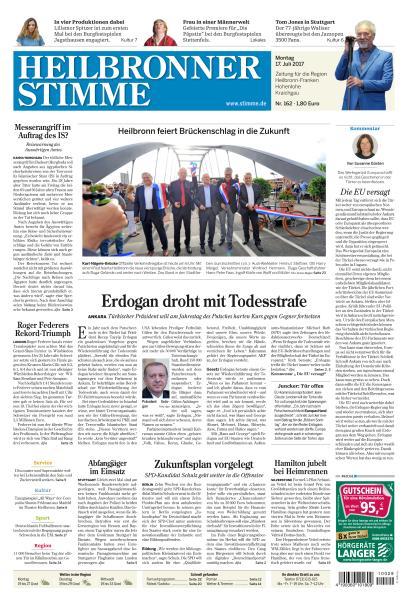 : Heilbronner Stimme 17 Juli 2017