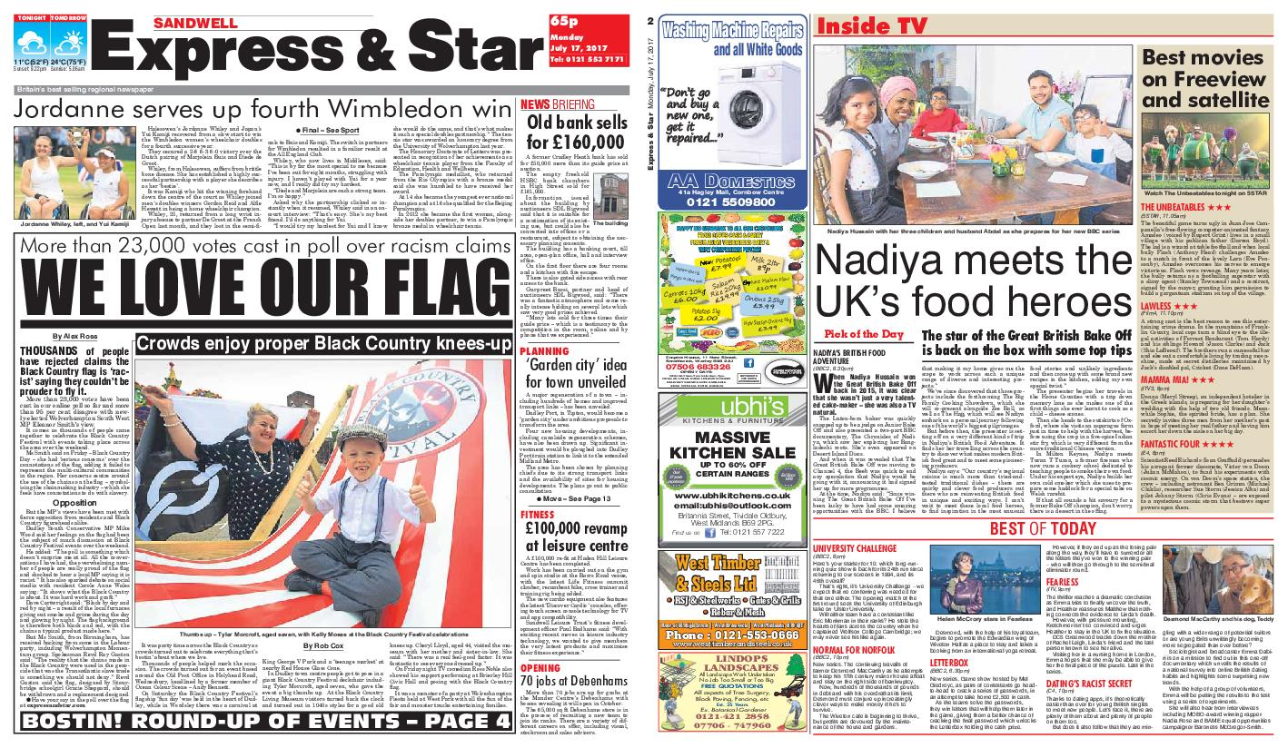 : Express and Star Sandwell Edition July 17 2017