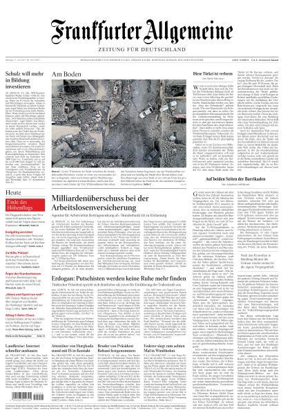 : Frankfurter Allgemeine Zeitung 17 Juli 2017