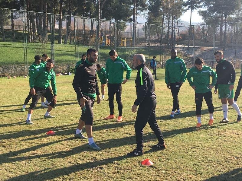 Yeni Amasyaspor'da sezonun ilk idmanı