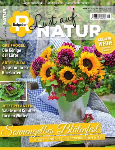 Cover Magazine Ratgeber Lust auf Natur Magazin August No 08 2017