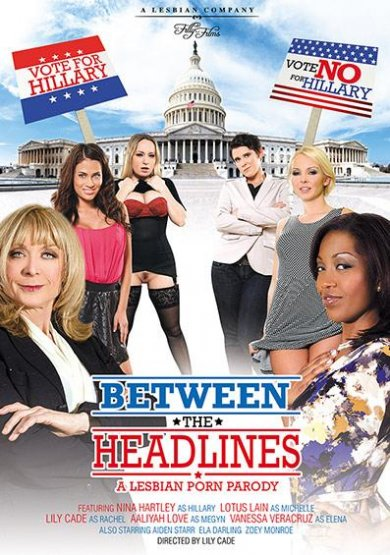 Between the Headlines - A Lesbian Parody Cover