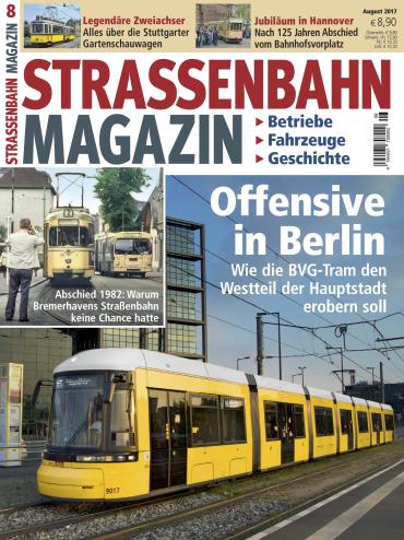 magazine Strassenbahn Magazin August No 08 2017