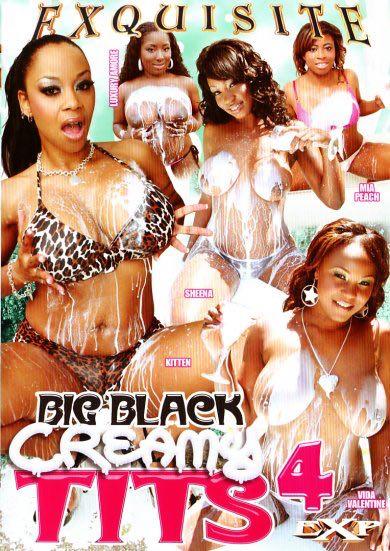 Big Black Creamy Tits #4 Cover