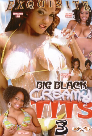 Big Black Creamy Tits #3 Cover
