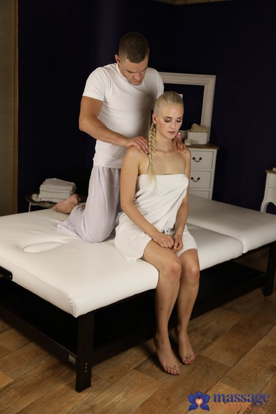 Katy Pearl aka Katy Sky - Innocent Blonde Wanks Off Big Cock Cover