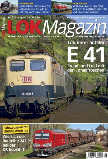 magazine for Lok Magazin August No 08 2017